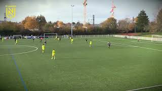 VIDEO: U19. FCN - VOC : les buts de la rencontre (4-1)
