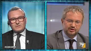Borghi (lega) vs Zanetti (pd): 'Il debito pubblico è una balla'