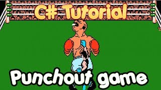 C# Tutorial - Create a simple Punch Out Boxing Game in Visual Studio