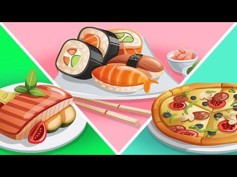 Еда и напитки для детей   Изучаем еду и напитки - Видео онлайн