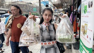 Street food 1$ in Thailand  Natural life TV