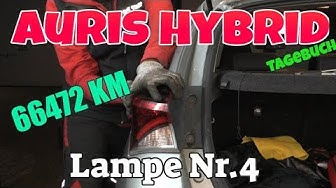 Nr. 4 -  Wieder mal , Bremslicht - KM 66472 - Auris Hybrid Tagebuch