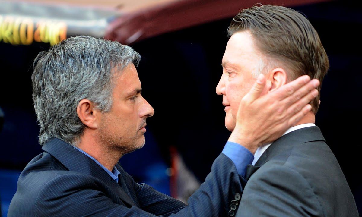 van gaal meet mourinho fired