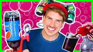 TESTING CRAZY SODA GADGETS!