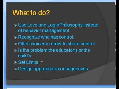 Attachment Disorder Behavior Management Ideas