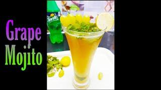 Grape Mojito recipe #Shorts #YouTubeShortvideos #shortvideo in AlakanandaSwain
