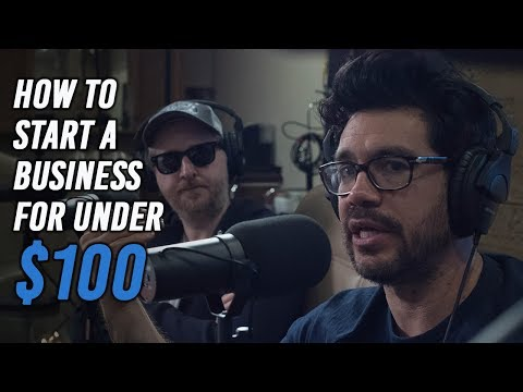 How To Start A Business For Under $100