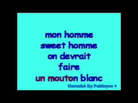 Homme Sweet Homme - Zazie - Karaoké FKA