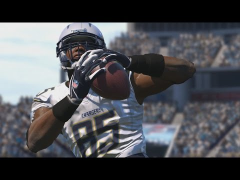 Antonio Gates Through The Years - Madden 05 - Madden 17