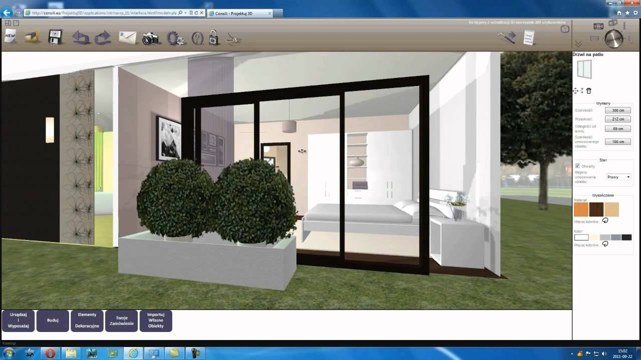 Darmowy program do projektowania wn trz 3d online youtube 3d on line