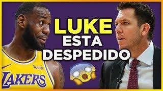 Luke Walton sera despedido de Los Angeles Lakers al final de la temporada | NBA Lakers En Español