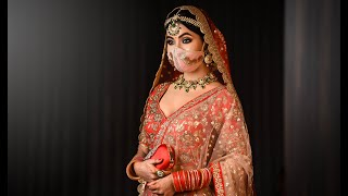 North Indian Bridal Makeover || Jitu Barman ||