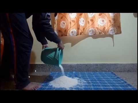 How did Dynamo do the fish bucket trick-My Version in rice-Part 1
