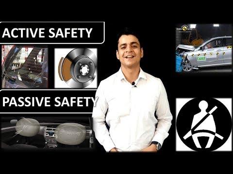Active vs Passive Safety(सेफ्टी की शुरुआत ):Automobile training in Hindi