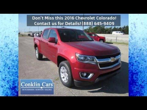 New 2016 Chevrolet Colorado Conklin Cars Chevrolet Newton KS Wichita KS area