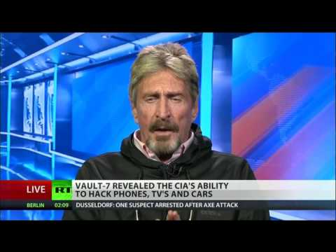 McAfee to CIA: You Should Be Ashamed; What Were You Thinking?