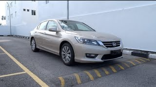 2013 Honda Accord 2.0 VTi-L Start-Up and Full Vehicle Tour