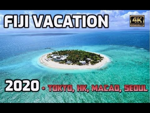 Fiji Vacation, 2020  4K60