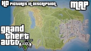GTA V OFFICIAL MAP LEAKED 1080p HD High Resolution Pictures in DESCRIPTION