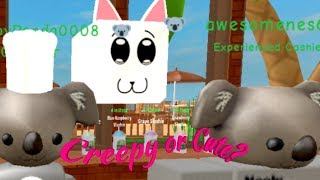 Worst Worker Ever?| Koala Cafe on Roblox (w/ Emma)| READ DESC!