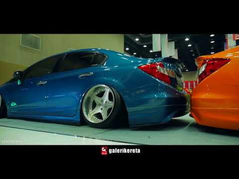 Best SLAMMED Honda Civic FB Compilation