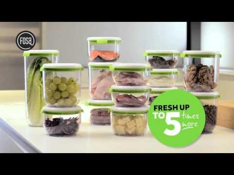 FOSA™ Food Vacuum Storage System (British English)