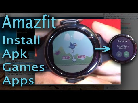 Amazfit Pace - How To Install Apk/apps/games On Amazfit Watch Using Adb
