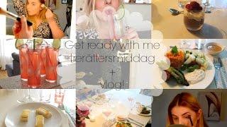 GRWM trerättersmiddag + vlogg!!  Johanna Lind