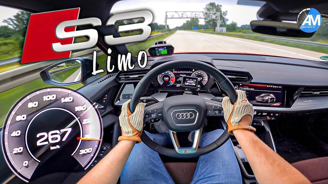 NEW! Audi S3 Sedan | 0-100 Launch Control & 100-200 km/h acceleration🏁 | by Automann in 4K