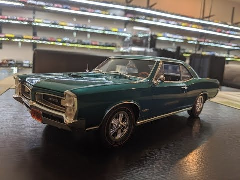 1:18 Diecast Review of the 1966 Pontiac GTO by Acme