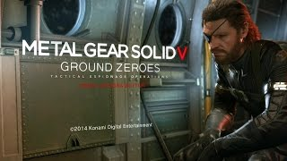 PS4 Longplay [001] Metal Gear Solid V Ground Zeroes (part 1 of 3)