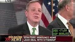 Citi, Senators announce mortgage agreement