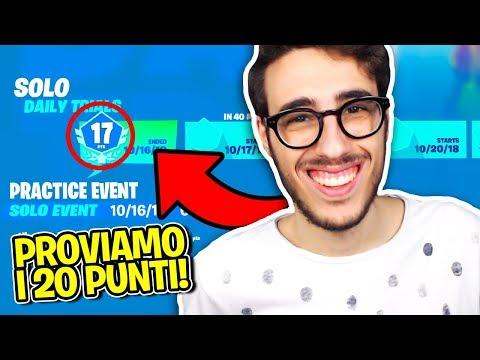 FORTNITE - SECONDA GIORNATA DEL TORNEO! OGGI 20 PUNTI!!
