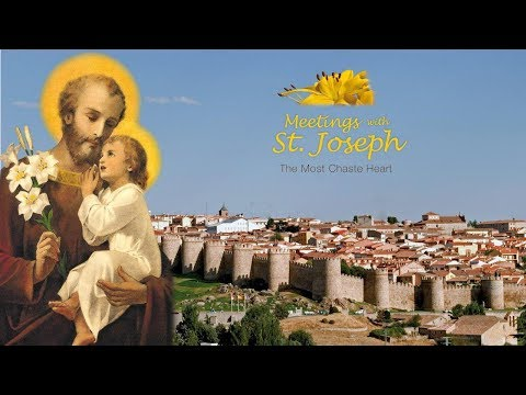 Message of Saint Joseph - 06/19/2017 (Avila, Spain)