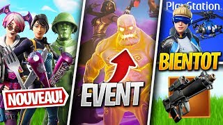 NEW SKINS, PACK PS, ZOMBIES RETOUR - More on FORTNITE! (Fortnite News)