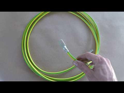 Провод ПВ3 ПУГВ 16 мм2 купить для заземления Bolta - видеообзор
