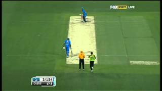 Thunder v Strikers - Dirk Nannes 4-17
