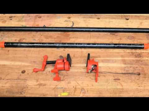 BESSEY® Pipe Clamps H-Style BPCH