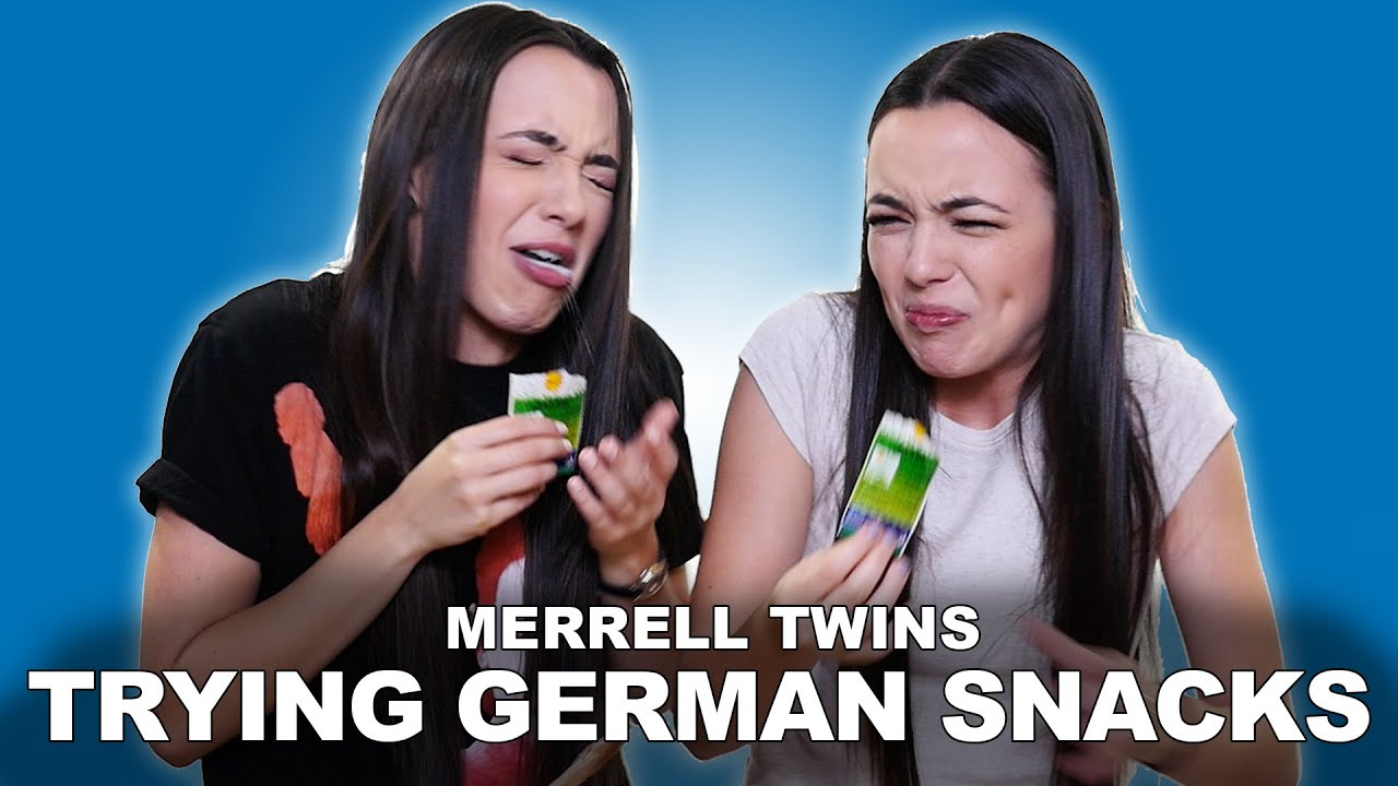Download TRYING GERMAN SNACKS - Merrell Twins