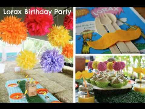 Outdoor birthday party ideas YouTube