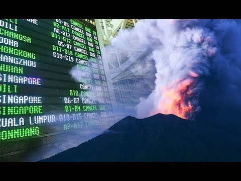 Bali volcano update w arning Another ERUPTION likely –expect airport to be closed again
