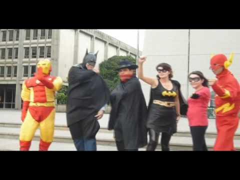 Video del Flashmob ó Encuentro Superhéroes, Medellin - YouTube