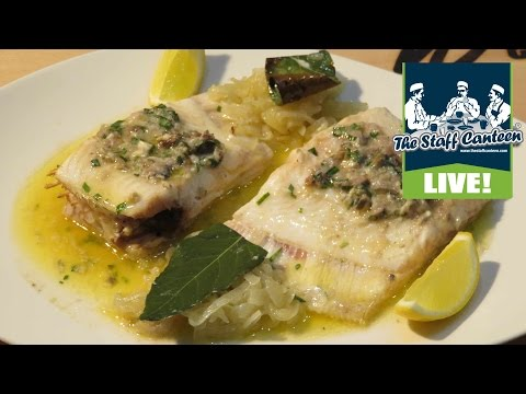 Nathan Outlaw And Tom Brown Cook Red Mullet And Lemon Sole Dishes