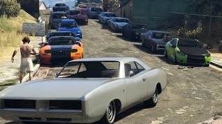 GTA 5 Fast & Furious Car meet