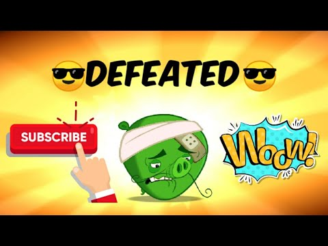 Angry Birds 2   Defeating Boss #1