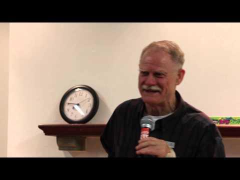 Paul Glover of Ithaca Hours in Los Angeles October 2013