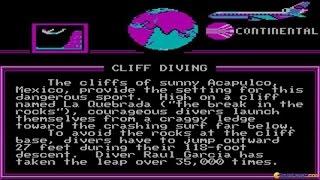 World Games gameplay (PC Game, 1986)