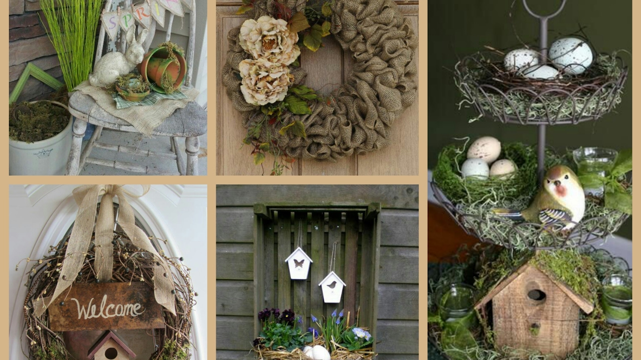 Rustic spring decor ideas spring decorating ideas for Decoration 2017
