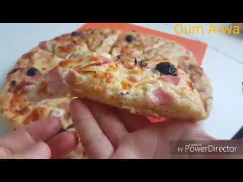الطريقة-الصحيحة-لتحضير-بيتزا-الايطالية,بالصلصة-البيضاء-🍕pizza-italienne-à-la-sauce-blanche