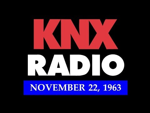 11/22/63 RADIO COVERAGE FROM KNX IN LOS ANGELES, CALIFORNIA